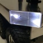 フロントの白色LED