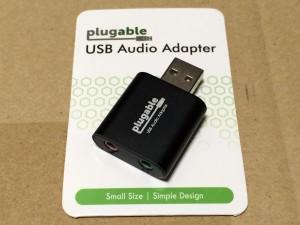Plugable USB オーディオ変換アダプタ